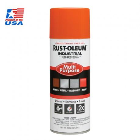 Rust Oleum Multi-Purpose Spray สีสเปรย์อุตสาหกรรม Safety Orange