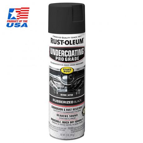 Rust Oleum Automotive Professional Undercoating Black - สีกันสนิมสำหรับช่วงล่างรถยนต์ สีดำ 248656