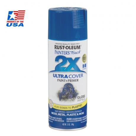 สีสเปรย์ กันสนิม - Rust-Oleum 2X - (สีน้ำเงินเข้ม) Deep Blue