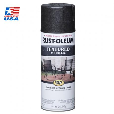 Stop Rust Textured Met - Galaxy 252303 สีสเปรย์ กันสนิม เมทัลลิค ชนิดเกล็ดละเอียด