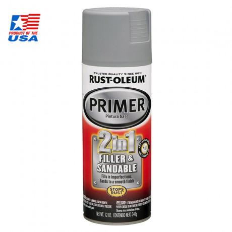 Rust Oleum 2 in 1 Filler & Sandable Primer ( รองพื้น งาน 3D PRINTS )