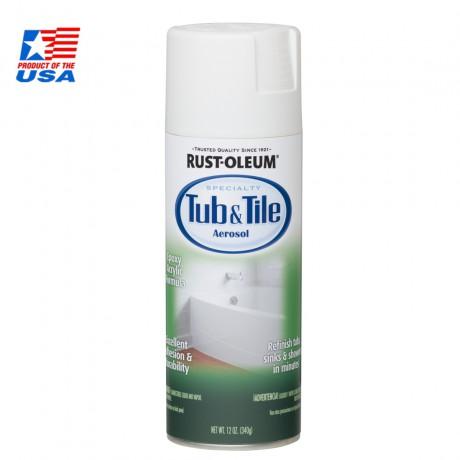 Tub And Tile Spray - สีสเปรย์เคลือบอ่างและเซรามิก  สีขาว