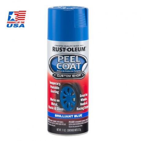 Rust Oleum Peel Coat - สีพ่นล้อ ลอกได้ ประกายน้ำเงิน