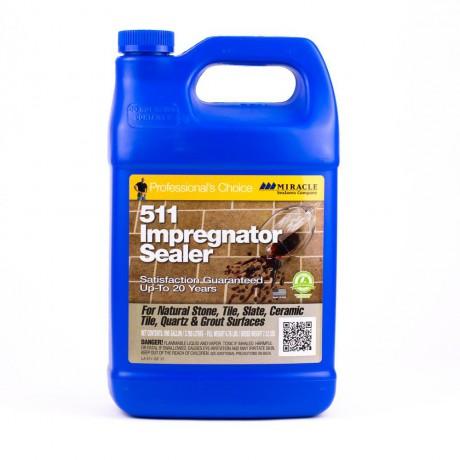 511 IMPREGNATOR - น้ำยารักษาสภาพพื้นผิวหิน, กระเบื้อง (3.785 L.)