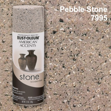 Rust Oleum สีสเปรย์ลายหิน - Stone Spray Paint  (Pebble Stone)