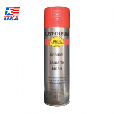 Rust Oleum High Performace Spray สีสเปรย์ อุตสาหกรรม ชนิดทนพิเศษ Safety Red