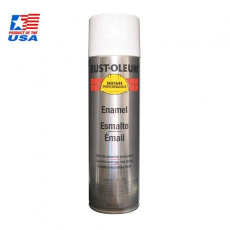 Rust Oleum High Performace Spray สีสเปรย์ อุตสาหกรรม ชนิดทนพิเศษ Gloss White